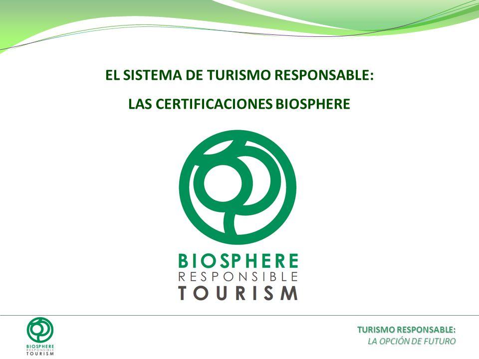 EL SISTEMA DE TURISMO RESPONSABLE: LAS CERTIFICACIONES BIOSPHERE