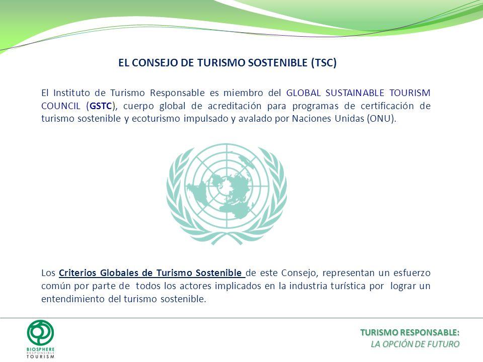 EL CONSEJO DE TURISMO SOSTENIBLE (TSC)