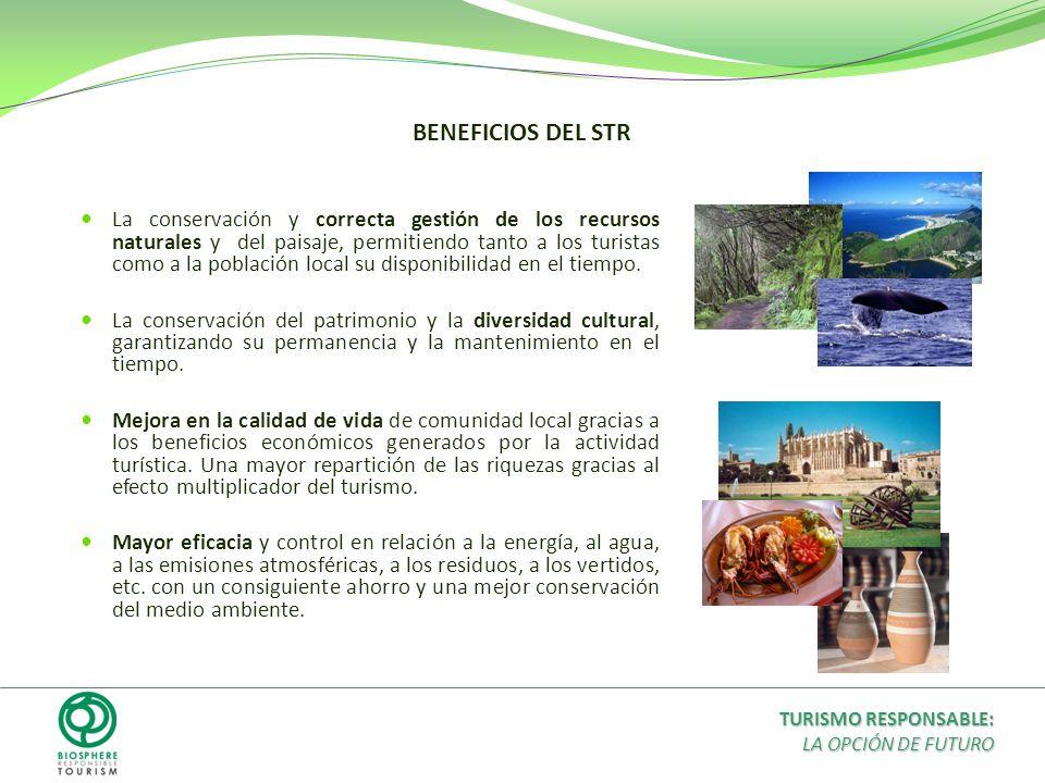BENEFICIOS DEL STR