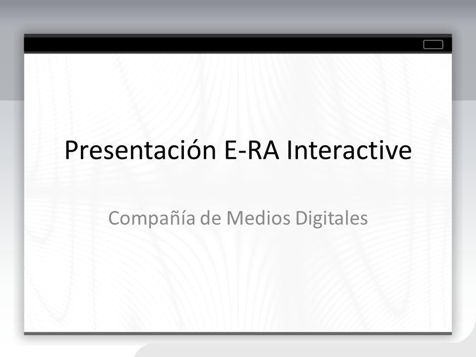 Presentación E-RA Interactive