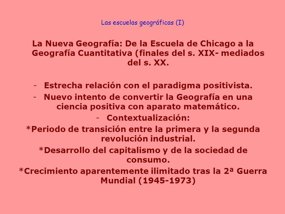 Las escuelas geográficas (I)