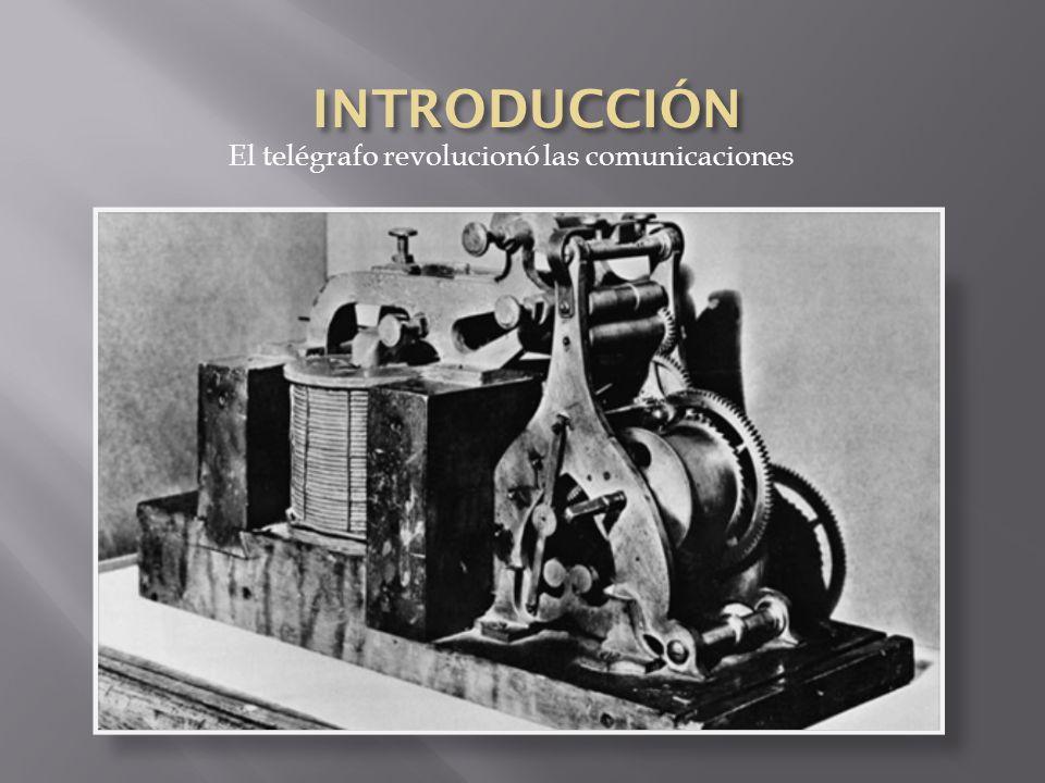 El telégrafo revolucionó las comunicaciones