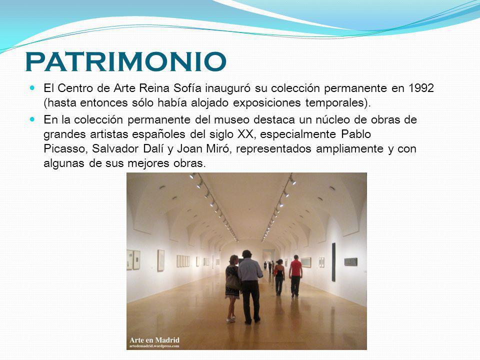 PATRIMONIO El Centro de Arte Reina Sofía inauguró su colección permanente en 1992 (hasta entonces sólo había alojado exposiciones temporales).