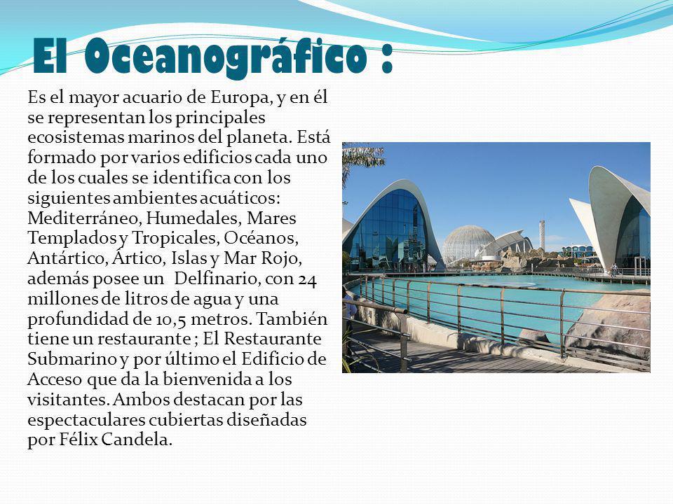 El Oceanográfico :