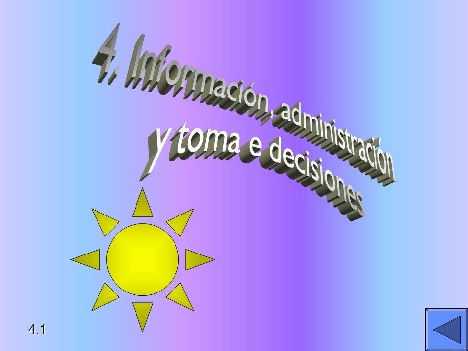 4. Información, administración