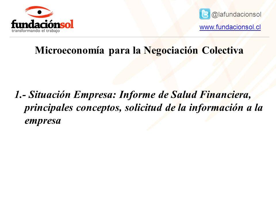 Microeconomía para la Negociación Colectiva