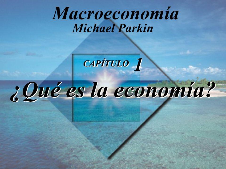 CAPÍTULO 1 ¿Qué es la economía
