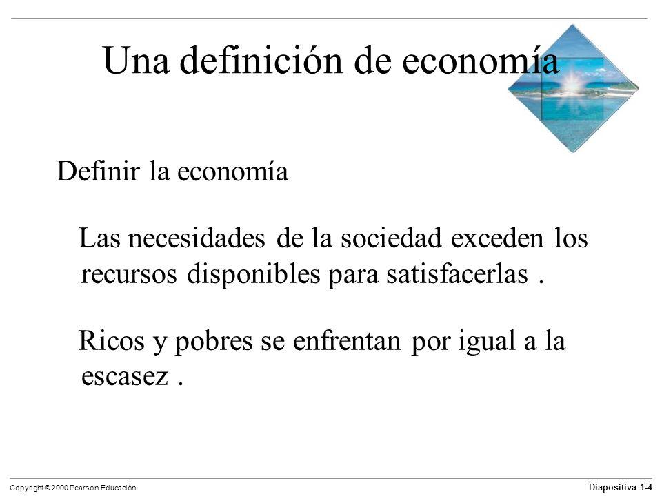 Una definición de economía