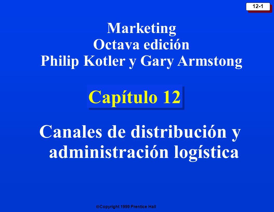 Canales de distribución y administración logística