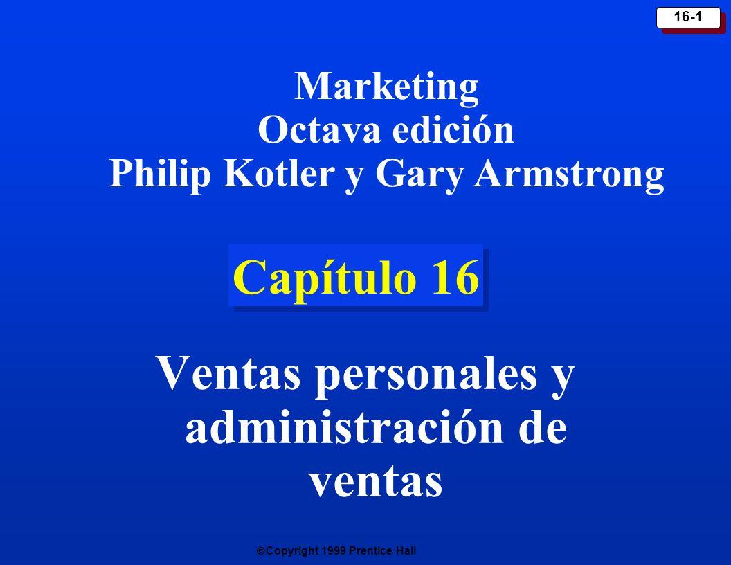 Ventas personales y administración de ventas