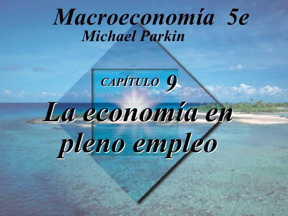 CAPÍTULO 9 La economía en pleno empleo