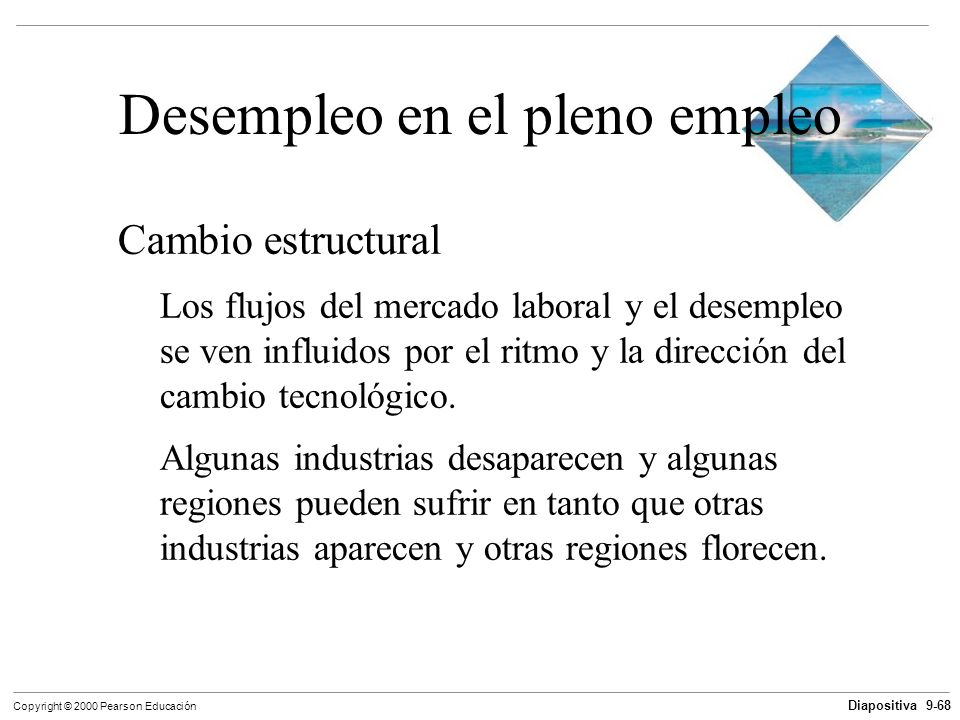 Desempleo en el pleno empleo