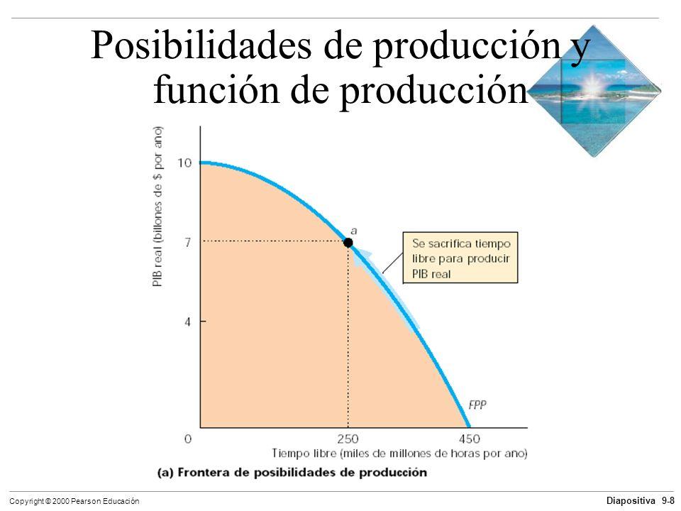 Posibilidades de producción y función de producción