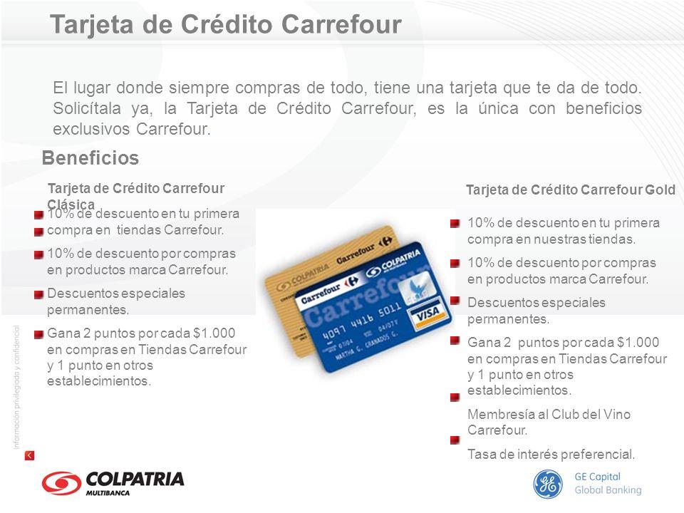 Tarjeta de Crédito Carrefour