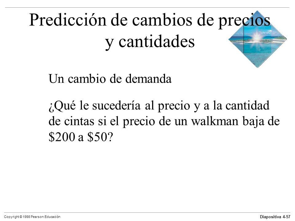 Predicción de cambios de precios y cantidades