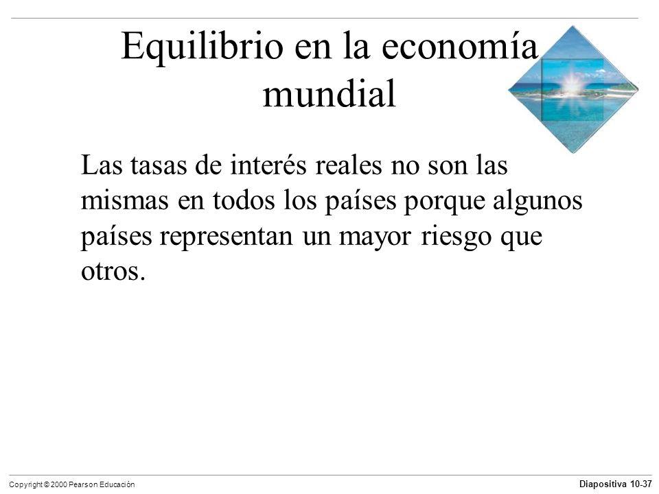 Equilibrio en la economía mundial