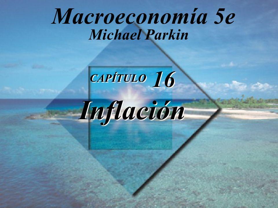 Macroeconomía 5e Michael Parkin CAPÍTULO 16 Inflación 1
