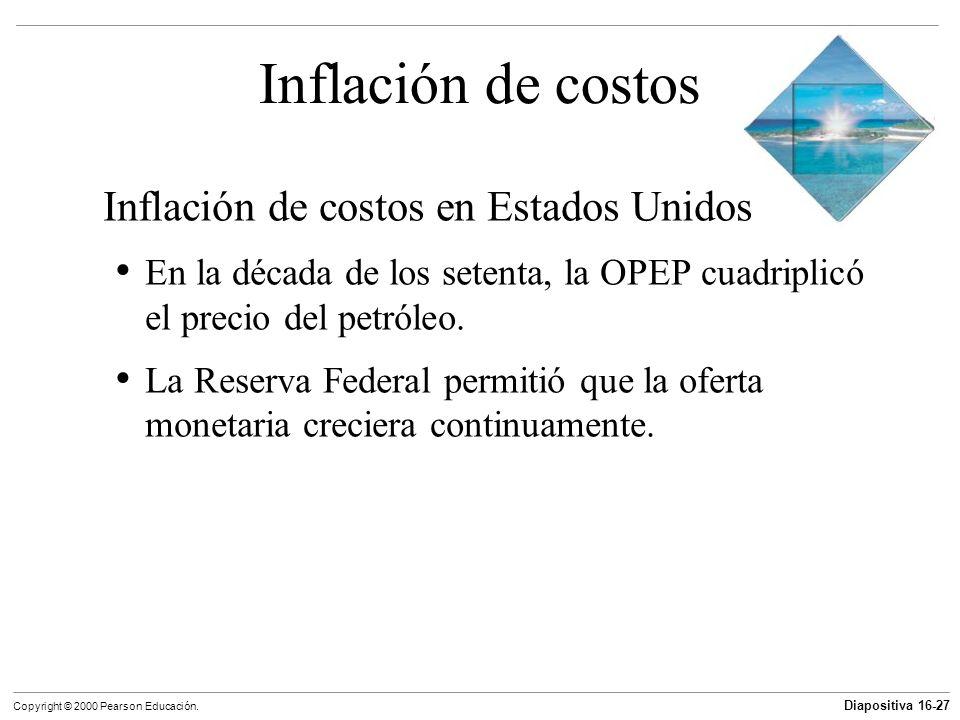 Inflación de costos Inflación de costos en Estados Unidos