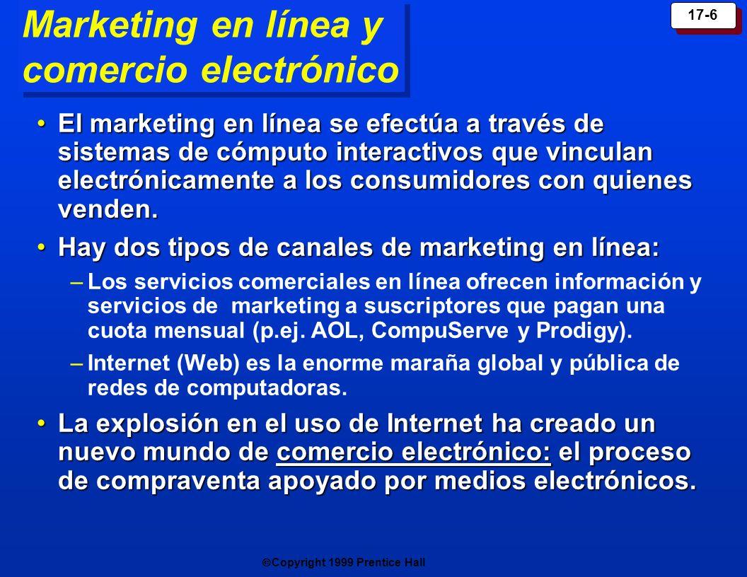 Marketing en línea y comercio electrónico
