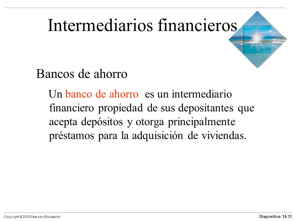 Intermediarios financieros