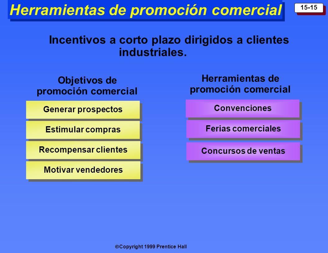 Herramientas de promoción comercial