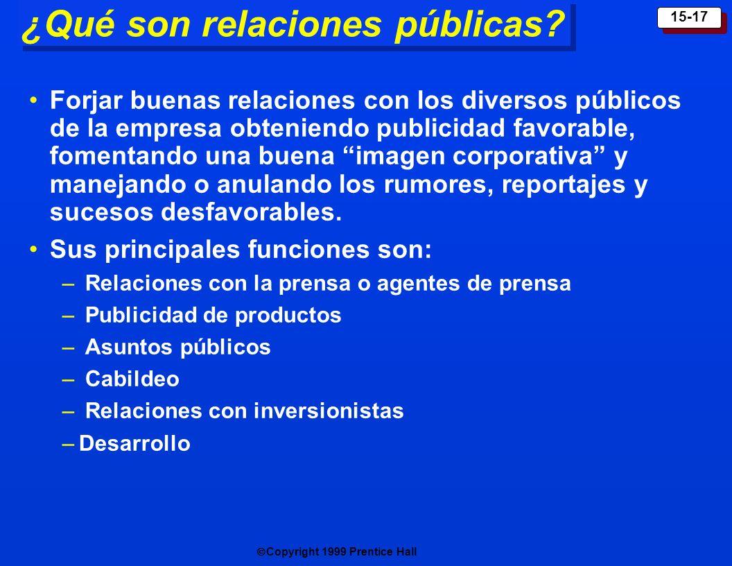 ¿Qué son relaciones públicas