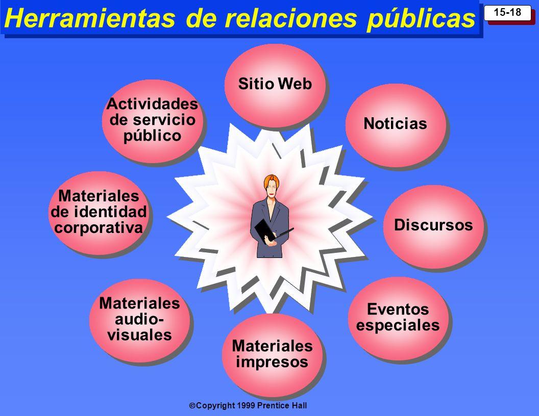 Herramientas de relaciones públicas