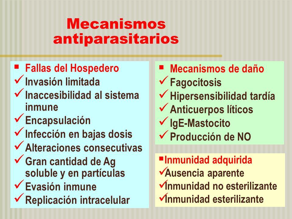 Mecanismos antiparasitarios
