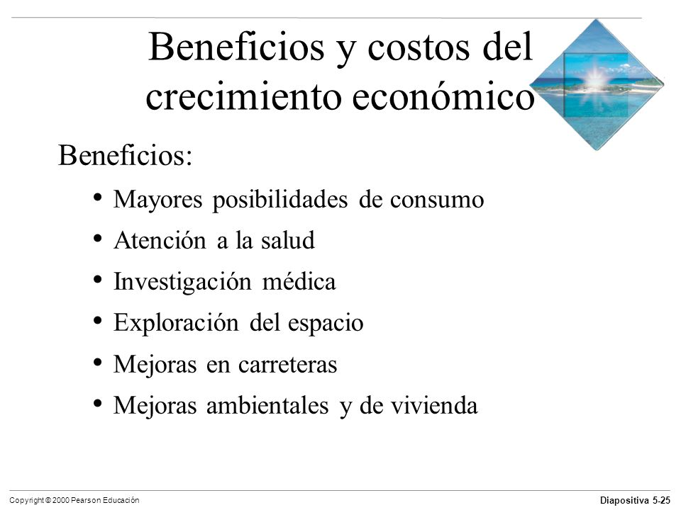 Beneficios y costos del crecimiento económico