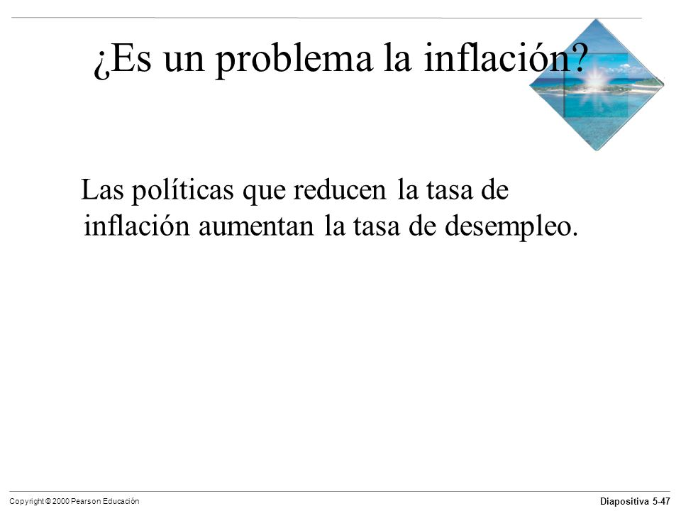 ¿Es un problema la inflación