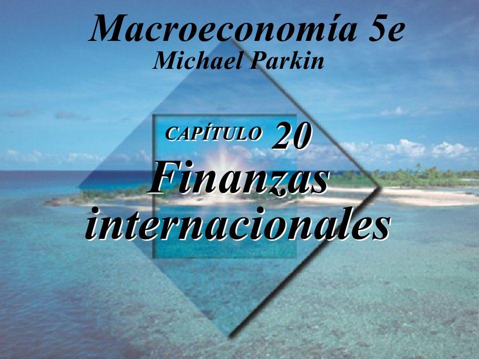 CAPÍTULO 20 Finanzas internacionales