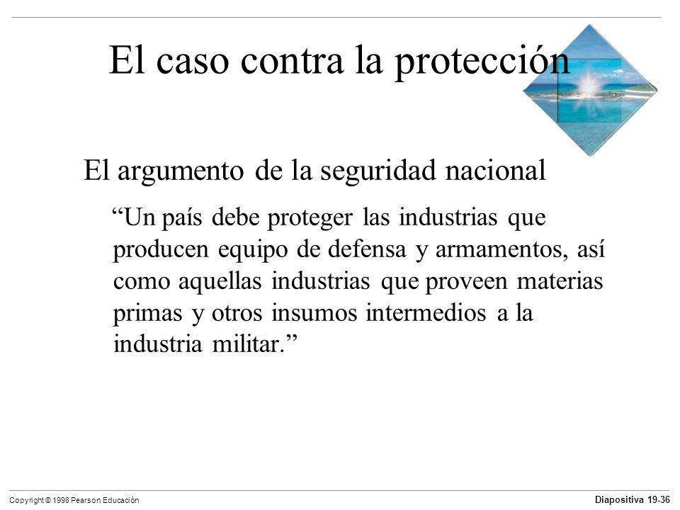 El caso contra la protección