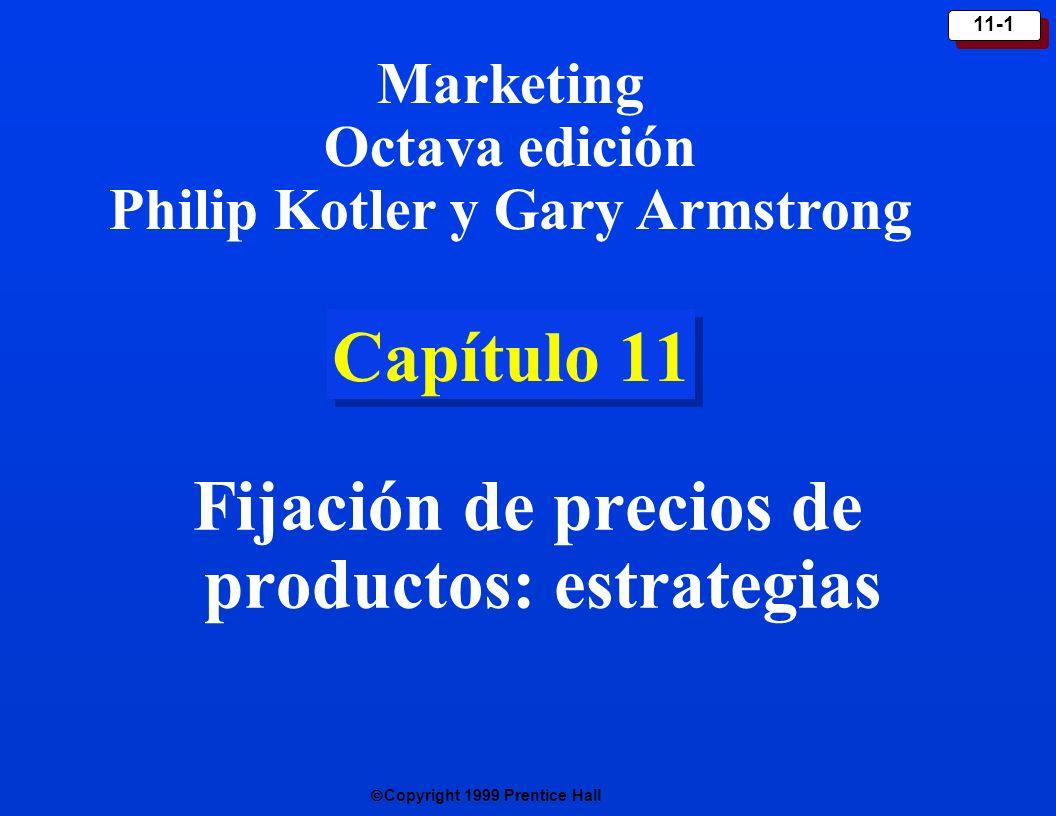 Fijación de precios de productos: estrategias