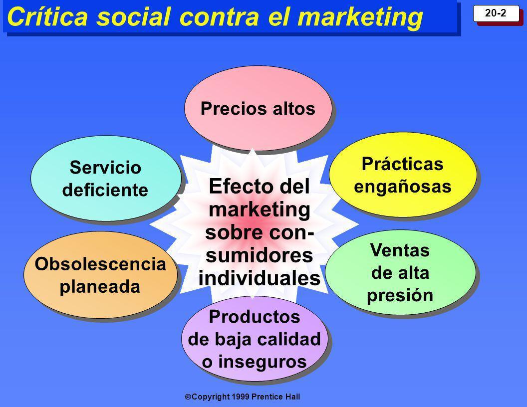 Crítica social contra el marketing