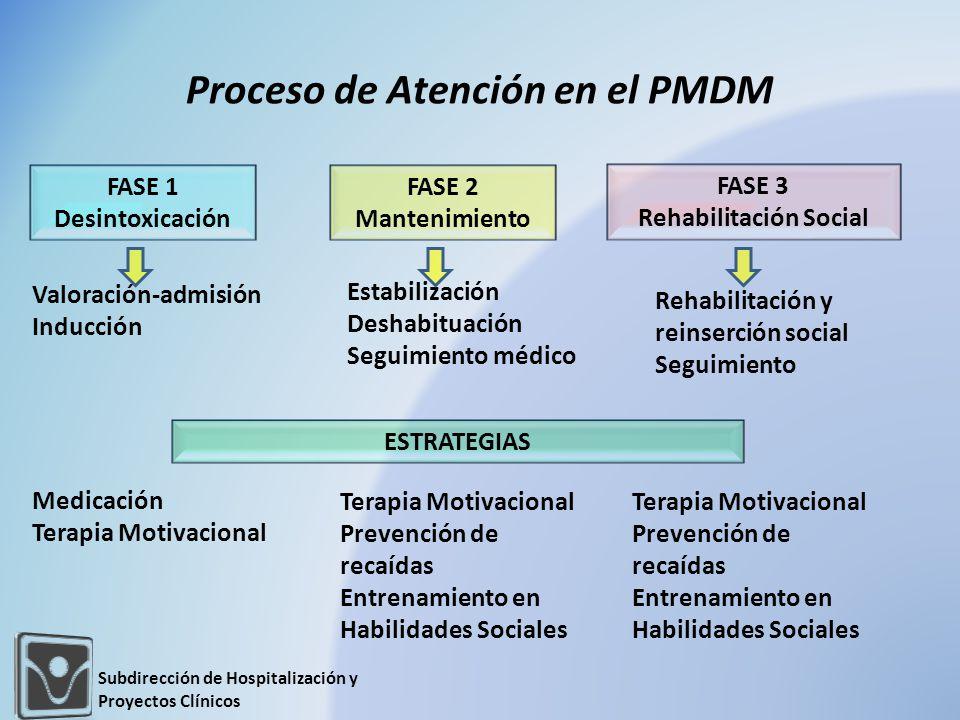 Proceso de Atención en el PMDM