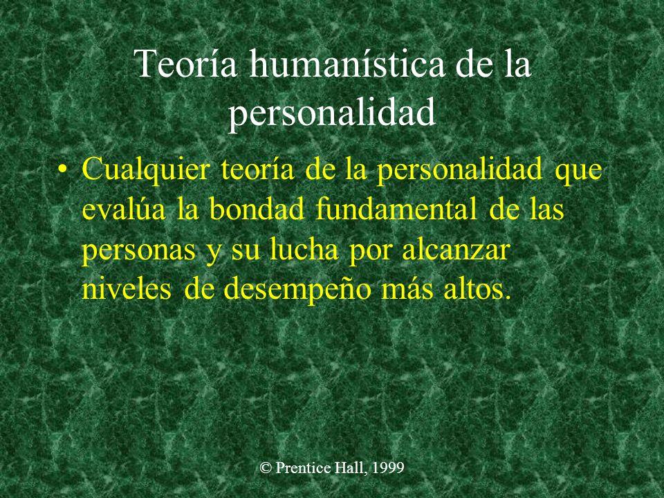Teoría humanística de la personalidad