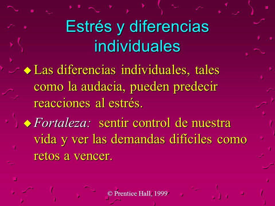 Estrés y diferencias individuales