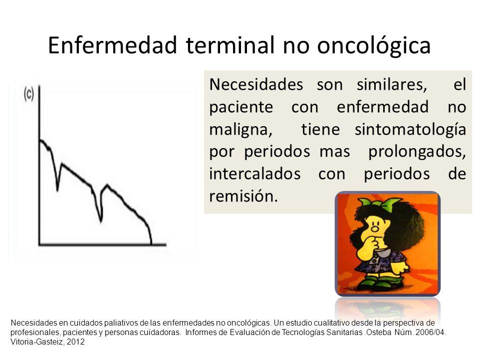 Enfermedad terminal no oncológica