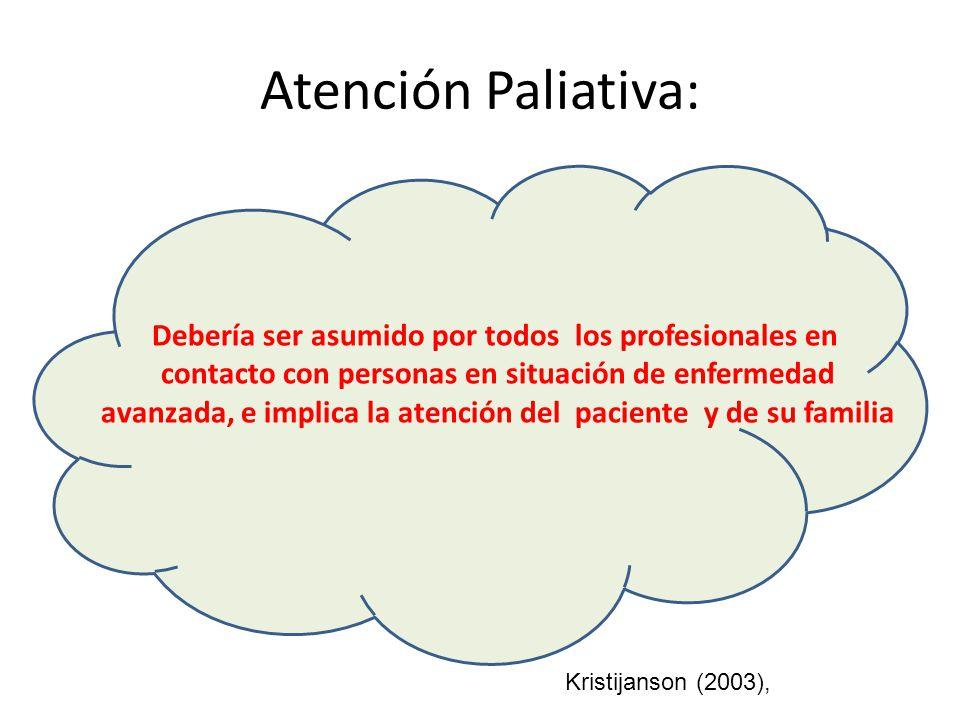 Atención Paliativa:
