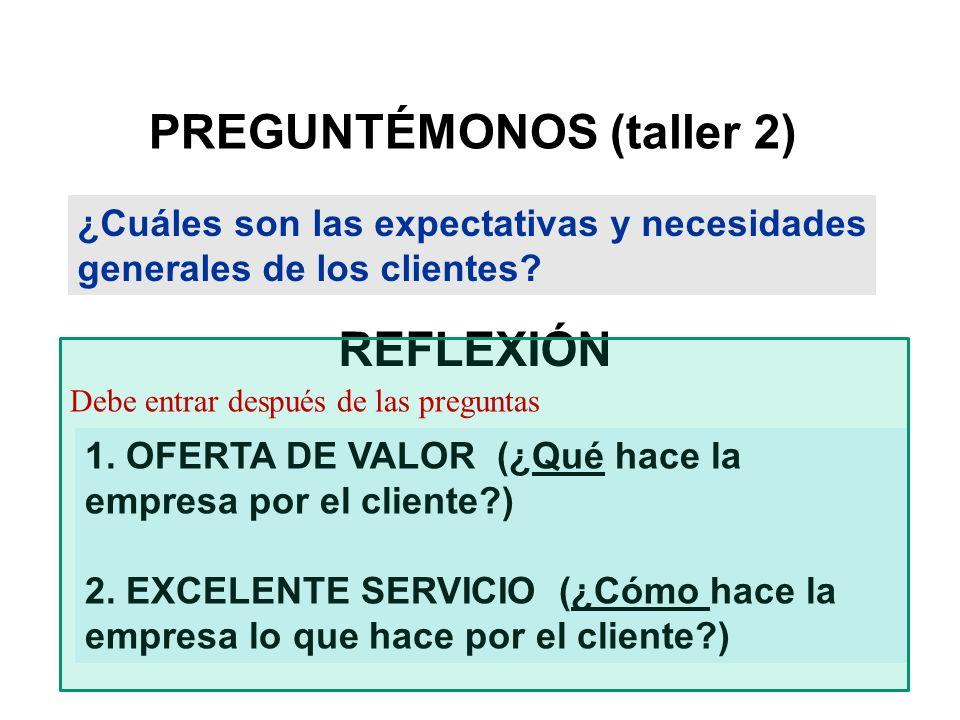 PREGUNTÉMONOS (taller 2)