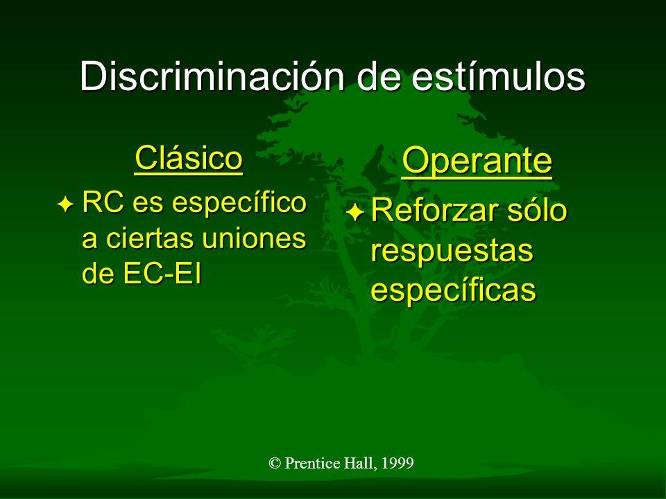 Discriminación de estímulos