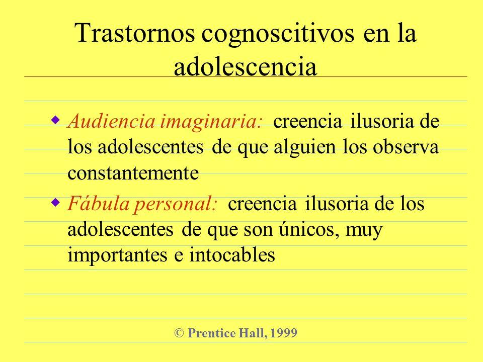 Trastornos cognoscitivos en la adolescencia