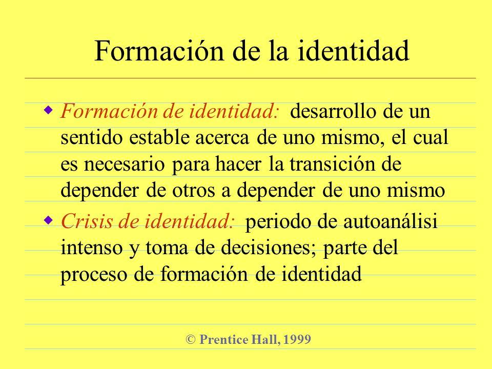 Formación de la identidad