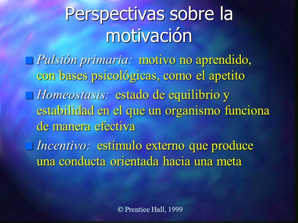 Perspectivas sobre la motivación