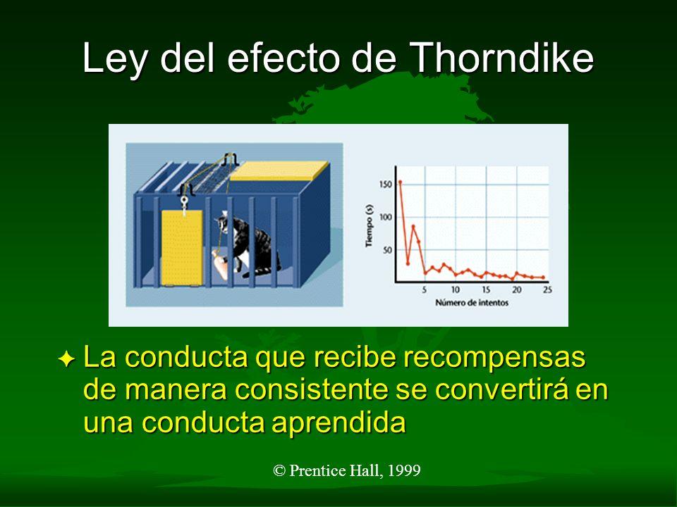 Ley del efecto de Thorndike