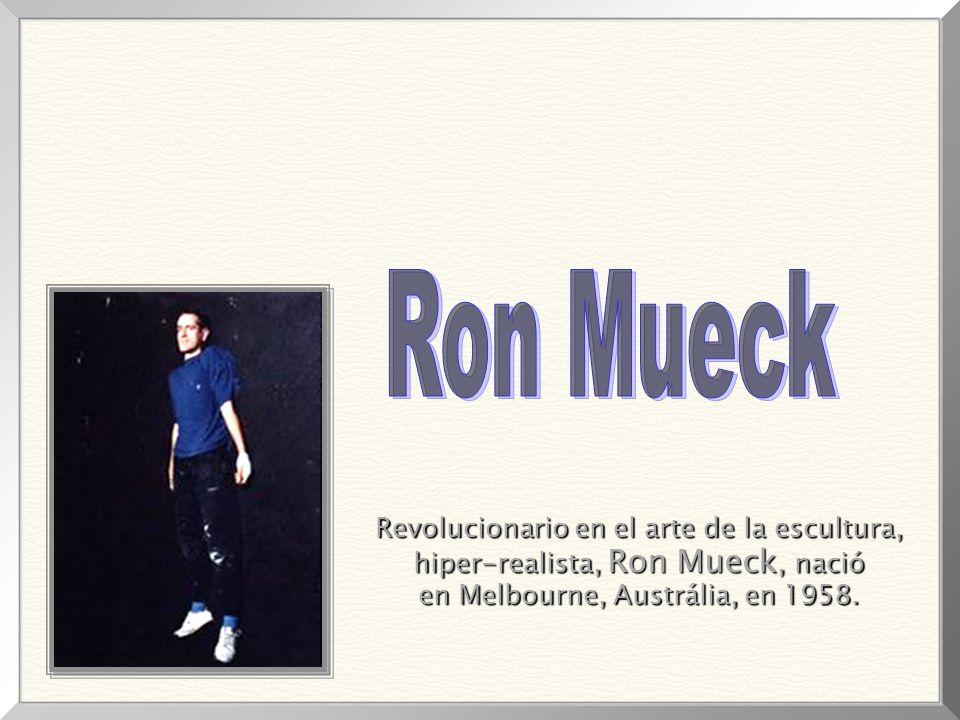 Ron Mueck Revolucionario en el arte de la escultura,
