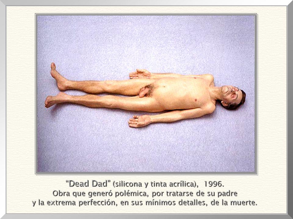 Dead Dad (silicona y tinta acrílica), 1996.