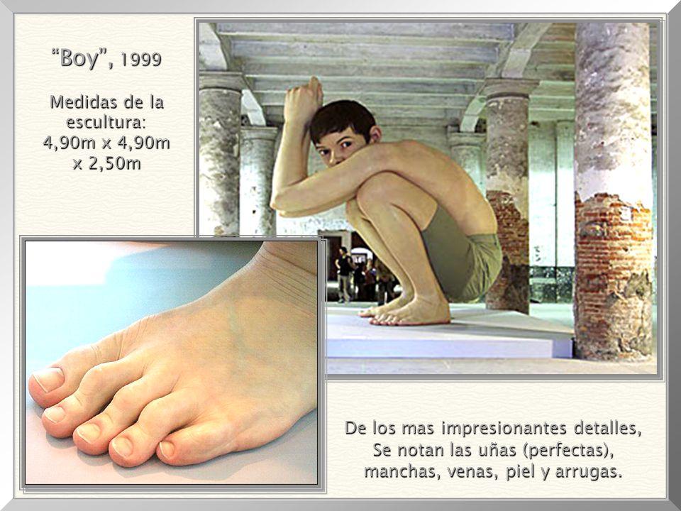 Boy , 1999 Medidas de la escultura: 4,90m x 4,90m x 2,50m