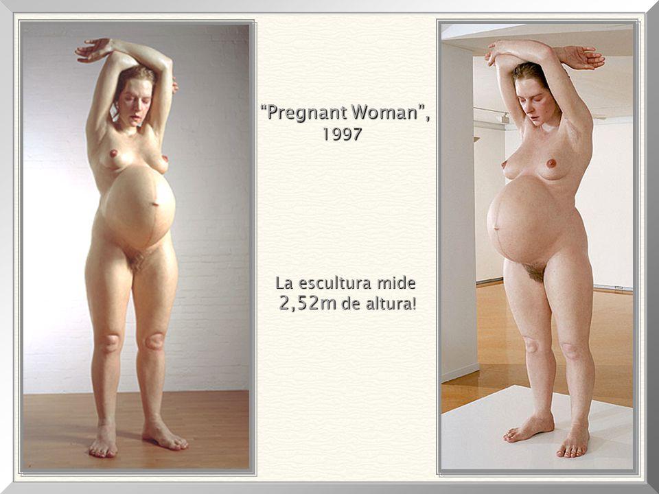 Pregnant Woman , 1997 La escultura mide 2,52m de altura!