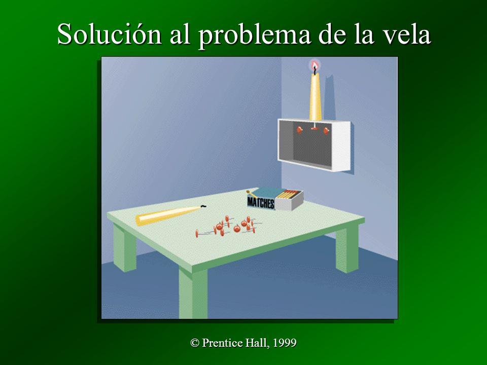 Solución al problema de la vela